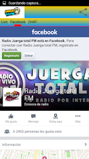 Radio juerga total Fm - screenshot
