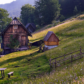 Wooden huts by Miloš Karaklić - Buildings & Architecture Other Exteriors (  )