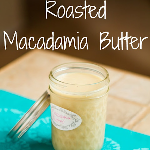 Roasted Macadamia Butter