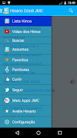 Screenshot of Hinário Cristã  JMC.