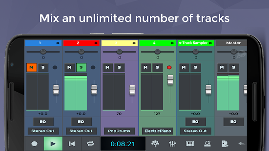 n-Track Studio 8 Music DAW APK for Blackberry | Download ...