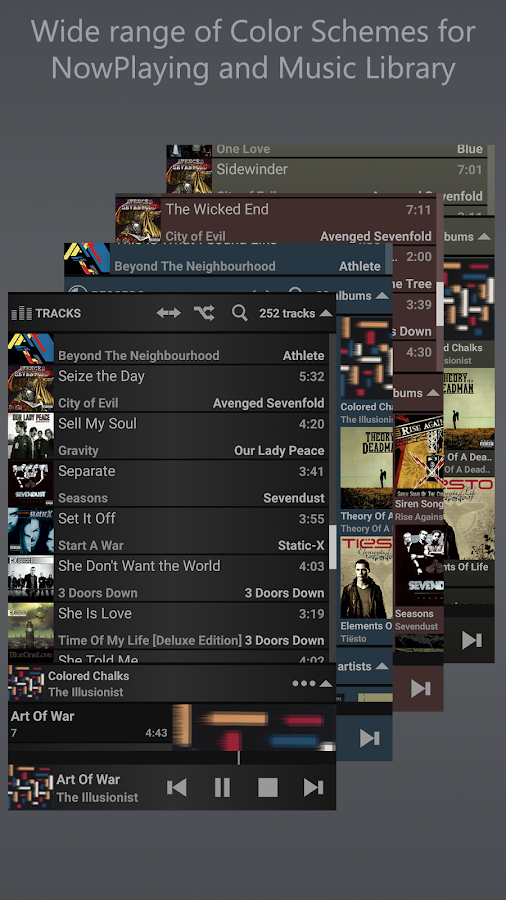 T Music Player + RE Equalizer Screenshot 7