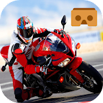VR Moto Bike Racer Icon
