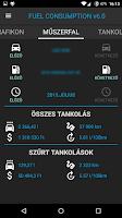 Screenshot of Fuel Consumption