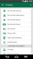 Screenshot of BZWBK24 mobile