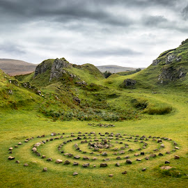Fairy Glen by Trine Lise Lockertsen - Landscapes Mountains & Hills ( isleofskye, skye, fairyglen, uk, glen, scotland,  )