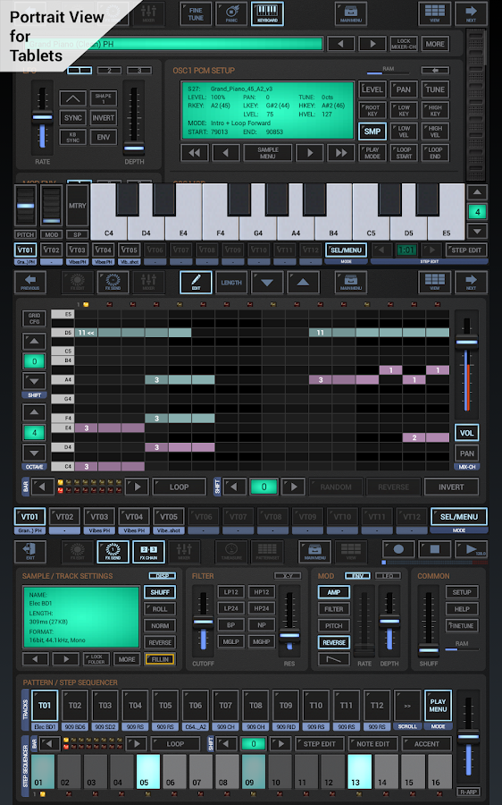 G-Stomper Studio Screenshot 0