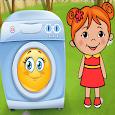 Lili Ironing Washing Dresses