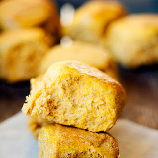 Pumpkin-wheat Dinner Rolls