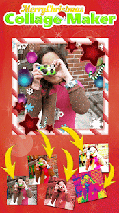 Merry Christmas Collage Maker - screenshot