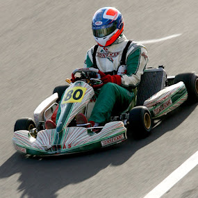 Karting by Martin Burnett - Sports & Fitness Motorsports ( karting, speed, racing, shifter )