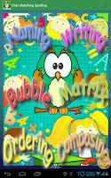 Screenshot of Kids Matching Spelling Lite