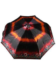 """Зонт """"Компакт L"""", 110см, малиново-черный"""