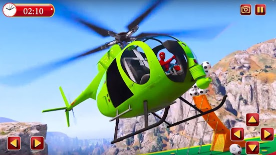 Superhero: Chinook RC chopper Race Simulator for pc