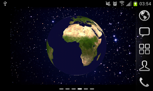 Earth 3D LiveWP with Zoom - screenshot