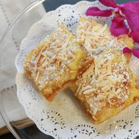 Lemongrass Coconut Bars