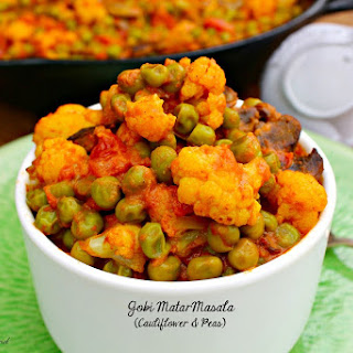 Gobi Matar Masala (Cauliflower and Peas)