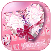 Pink Diamond Keyboard Theme APK for iPhone