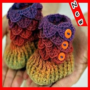 Download Crochet Baby Shoes For PC Windows and Mac