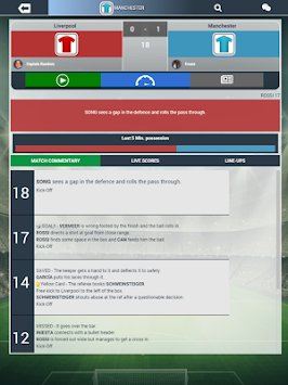 Soccer Manager Worlds APK screenshot thumbnail 6