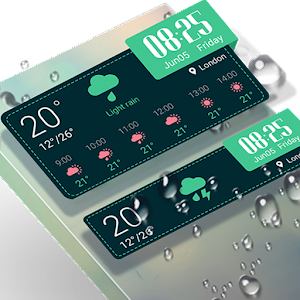Weather & Clock Widget -Breeze
