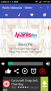Radio Malaysia All Stations - screenshot