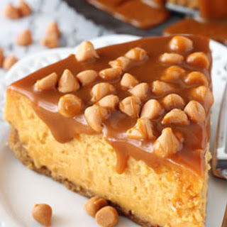 Loaded Butterscotch Cheesecake