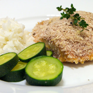 Panko-Crusted Salmon with Honey-Mustard Glaze