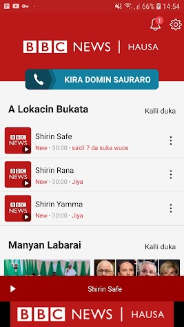 BBC Hausa Screenshot