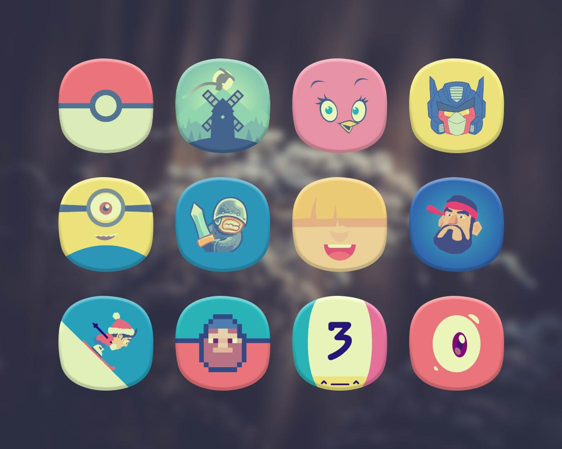 Classique Icon Pack Theme Screenshot 3
