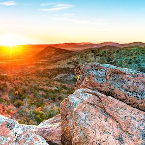 High Altitude Sunset by Brett Wright - Landscapes Sunsets & Sunrises ( hdr, oklahoma, d800, sunset, landscape, nikon )