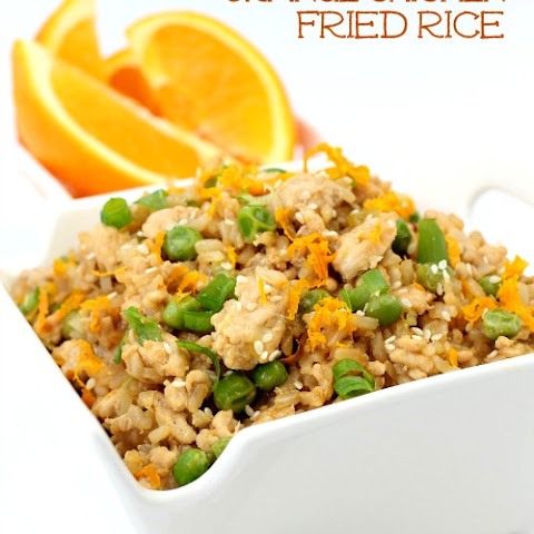 Orange Chicken Fried Rice