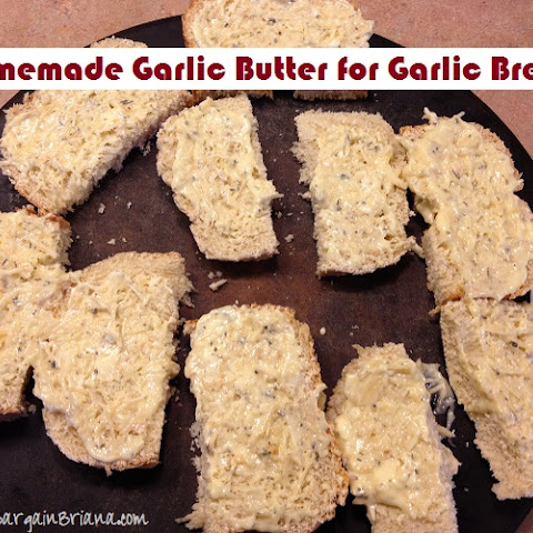 Homemade Garlic Butter