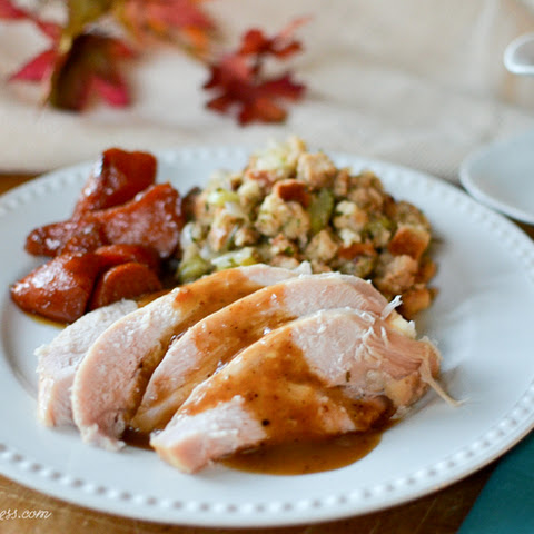 Homemade Stuffing with Savory Herbs & Cranberries