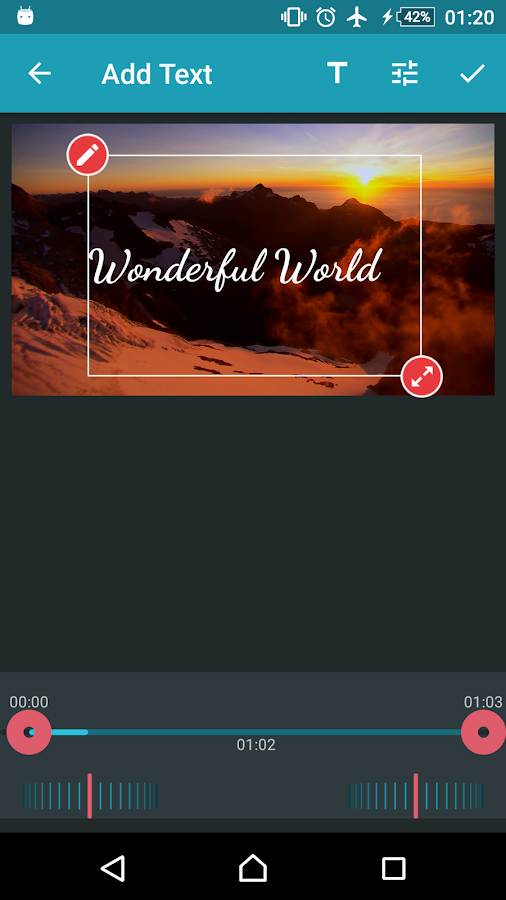 AndroVid Pro Video Editor Screenshot 7