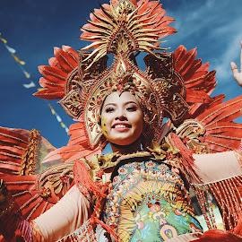Pintaflores Festival 2017 by Joselito Labrador Jr. - City,  Street & Park  Street Scenes ( joselito labrador jr, pinta flores, jee arr, pintaflores festival 2017 )