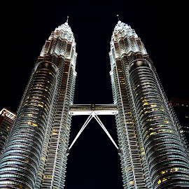 Petronas Twin Towers by Satyajit Sinha - Buildings & Architecture Office Buildings & Hotels