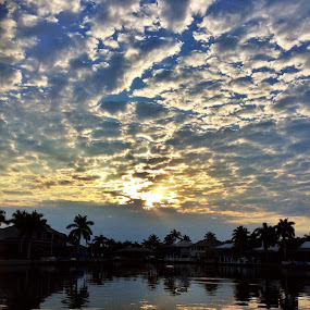 Marco Island sunrise by Lisa Ehrlich - Landscapes Cloud Formations (  )