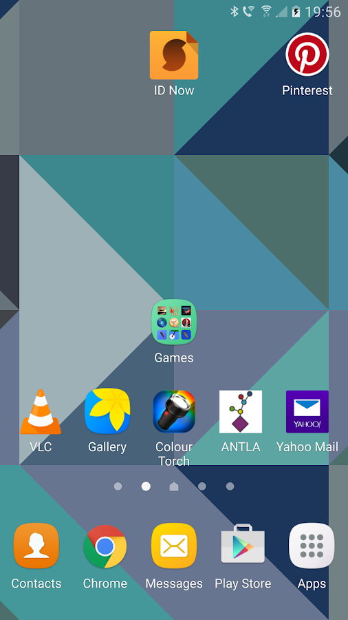Triangles Live Wallpaper Screenshot 3