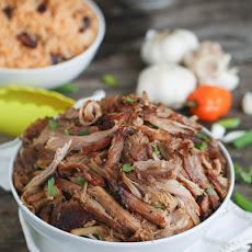 Slow Cooked Jerk Pork with Caribbean Salsa Recipe | Yummly