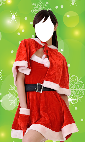 android Christmas Dress Photo Montage Screenshot 4