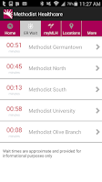 Screenshot of Methodist Healthcare