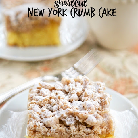 Shortcut New York Crumb Cake