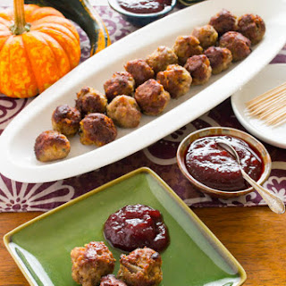 Turkey Meatballs With Cranberry Sauce Com Recipes