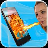 Fire Shout Screen Prank