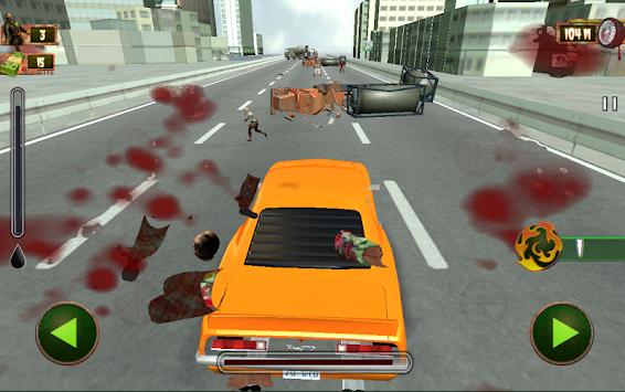 Zombie Roadkill - Killer Highway: Apocalypse 2017 apk screenshot