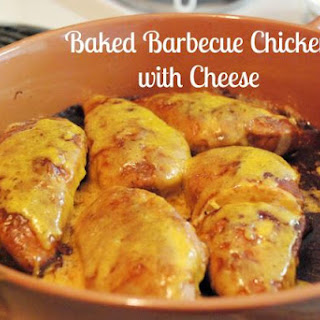 Baked Barbecue Chicken with Cheese