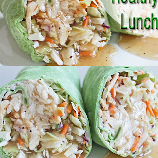 Chicken and Cabbage Wrap