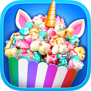 Unicorn Food - Rainbow Popcorn Party