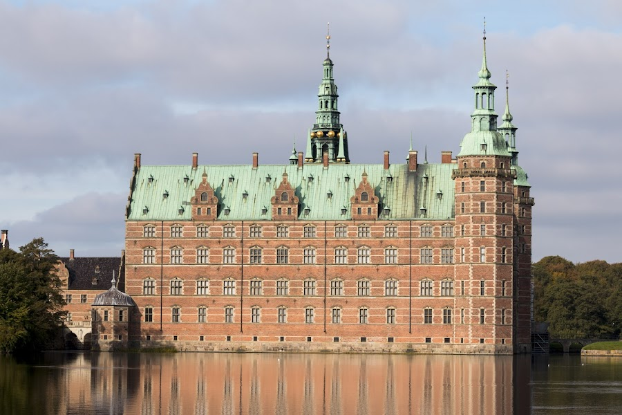 Friederiksborg castle  by Pietro Ebner - City,  Street & Park  Historic Districts ( reflection, copenaghen, castle, friederiksborg, denmark )